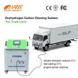 HhoのOxy-Hydrogen発電機の車のエンジン脱炭素処理をする機械