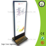 Open Advertizing LED Aluminum Outdoor Lightbox