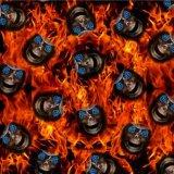 0,5М Kingtop широкий череп дизайн мультфильм Hydro Окунув PVA ВОДЫ ПЕРЕДАЧА печать гидрографических съемок фильма