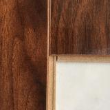 Valuate HDF Material La mejor calidad encerado laminado Art Parquet