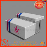 Merchandising 전시 테이블 중첩 소매 전시 라이저