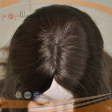 人間の毛髪のバージンのRemyの最上質の毛の加工されていないユダヤ人のかつら