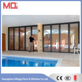 Большая алюминиевая дверь Lowes Bifold для балкона