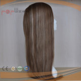 Top Quality 100% Virgin Viry Remy Hair Full Handtied Mono Top PU Perimeter Toupee (pppg-l-0787)