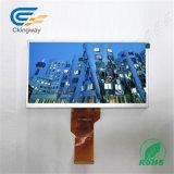 """7 """" schermo di tocco della visualizzazione dell'affissione a cristalli liquidi di 800*480 420 CD/M2 Hx8264+Hx8664"""
