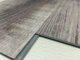 Wood Effect Lvt Виниловые полы Нажмите Plank отделочный материал