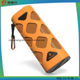 Alto-falante Bluetooth portátil com microfone embutido (laranja)