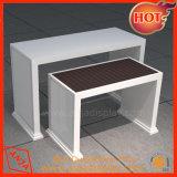 O metal/madeira/MDF/Visor MDF Melamina Vestuário & cremalheira mobiliário para exibir