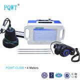 Portable 4 do punho de água da tubulação do detetor Pqwt-Cl500 medidores de instrumento do verificador