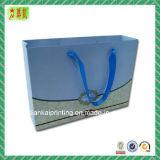 Custome a estampé le sac à provisions de papier enduit