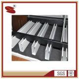 China Wholesale tipos de revestimiento en polvo de los límites materiales para el diseño del deflector de aluminio