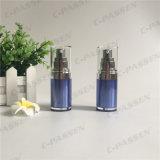 botella privada de aire de acrílico de la loción del zafiro 15ml para el empaquetado del cosmético (PPC-AAB-029)