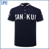 Novo Design popular personagem camisa Polo bordados