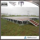 étape mobile tout-terrain d'étape réglable en aluminium de 4FT X4FT 1.22X1.22m
