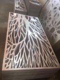 De Laser van het Roestvrij staal van het metaal sneed de Decoratieve Buitenkant van de Schermen voor Omheiningen, Voorzijde, het Scherm, Muur
