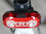 Luz de bicicletas recarregável USB