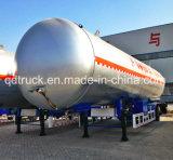 50-60 CBMの液化天然ガスタンクトラックのトレーラー、半液化天然ガスのためのトレーラー