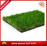 Natürlicher Garten-künstlicher Plastikteppich-Gras-Chemiefasergewebe-Rasen