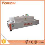 Torch mais barato o SMT/LED Mini Desktop Forno de refluxo do transportador R350 com 12 zonas