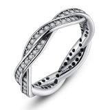 In het groot Manier 925 van de Luxe Echte Zilveren Juwelen