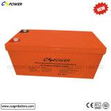 Pilha recarregável 12V 200Ah AGM bateria solar para o armazenamento de energia