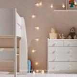 LED 꽃줄 당 빛을 거는 20 온난한 백색 실내 옥외 사용