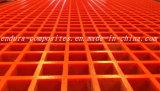 FRP/GRP에 의하여 주조되는 격자판 또는 섬유유리에 의하여 주조되는 격자판