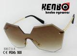 La novedad del bastidor de diseño con la lente y el hermoso color Lenc Gradiant Km17114 Moda Gafas de sol