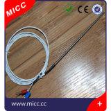 Micc tipo par termoeléctrico ajustável de K da baioneta do par termoeléctrico
