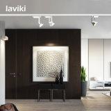 Haute qualité 20W 30W blanc noir carré COB LED Rail Rail Rail avec angle de rayon étroit pour magasin de vêtements, galerie d'art, showroom, centre commercial