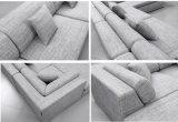 Home Furniture Modern Living Room Canapé en tissu (HC566)