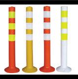Borne plástico da segurança de produtos do tráfego da borda da estrada