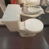 Toletta di ceramica a due pezzi rotonda economica di 9011 Siphonic