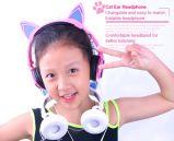 De beste Hoofdtelefoon van het Oor van de Kat van de Gift van het Ontwerp van de Verkoop Nieuwe Kleinhandels