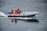 5 mètres de bateau de sauvetage de bateau de sauvetage en aluminium de l'eau