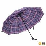 Ombrello poco costoso del Mens di promozione della pioggia che piega in su