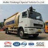 Camion-citerne aspirateur sec de poudre de charbon de bois de l'euro 4 de Camc avec le moteur diesel de Weichai
