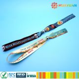 Wristbands ткани печатание логоса устранимым сплетенные празднеством