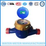 Mètre d'eau mécanique froid de Multi-Gicleur en laiton
