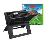Ordinateur portable Grill BBQ de pliage pliable de charbon de bois Barbecue de pique-nique Camping