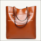 Sacchetto di mano bollato 2017 modi, grande sacchetto su ordinazione della signora mano del progettista della donna dei sacchetti di cuoio del sacchetto di Tote