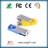 Best Seller Swivel USB Flash Drive Logo personalizado USB stick de memória flash Pen Drive