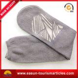 Fluglinien-Socken mit Zoll-Firmenzeichen u. grauer Farbe