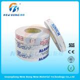 Pellicola protettiva del PE adesivo basso per alluminio