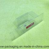 Caixa desobstruída feita sob encomenda do empacotamento plástico para o produto do chá