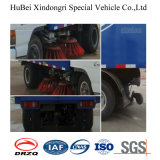 3cbm Dongfeng Nissan Compact Road Sweeper Truck Euro3