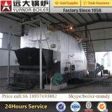 A condição nova e os côordenadores disponíveis para serir a maquinaria o serviço After-Sales ultramarino forneceram a caldeira de vapor 4-10ton despedida carvão