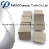 Segmento circular del diamante de la extremidad del disco para el bloque multi del granito del corte