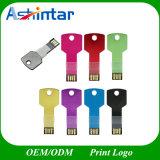 방수 금속 소형 USB 플래시 메모리 키 USB 섬광 드라이브