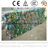 세탁기 (Zhangjiagang 시)를 재생하는 플라스틱 애완 동물 조각